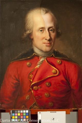 Unidentified Artist, Portrait of Benjamin Thompson, known as Count Rumford, 1785, oil on canvas, Jamestown-Yorktown Foundation